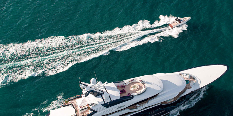 Fjord Yachts website design