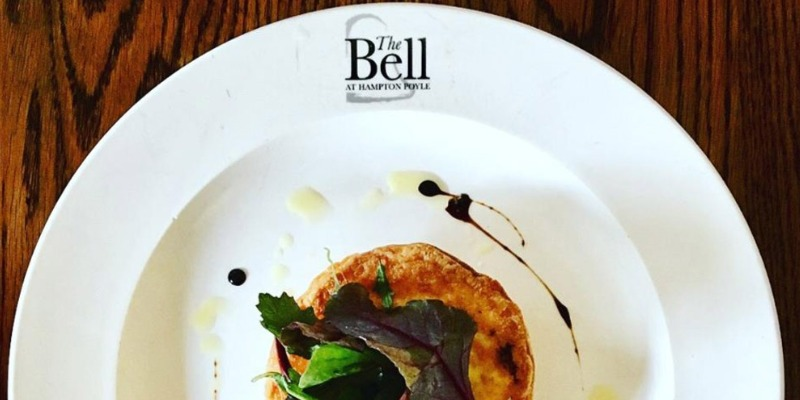 The Bell Oxford - web design